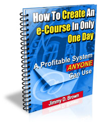 How To Create An e-Course In Only One Day