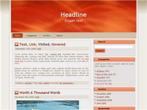 2 Column Wordpress Themes