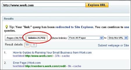 Yahoo Explorer View